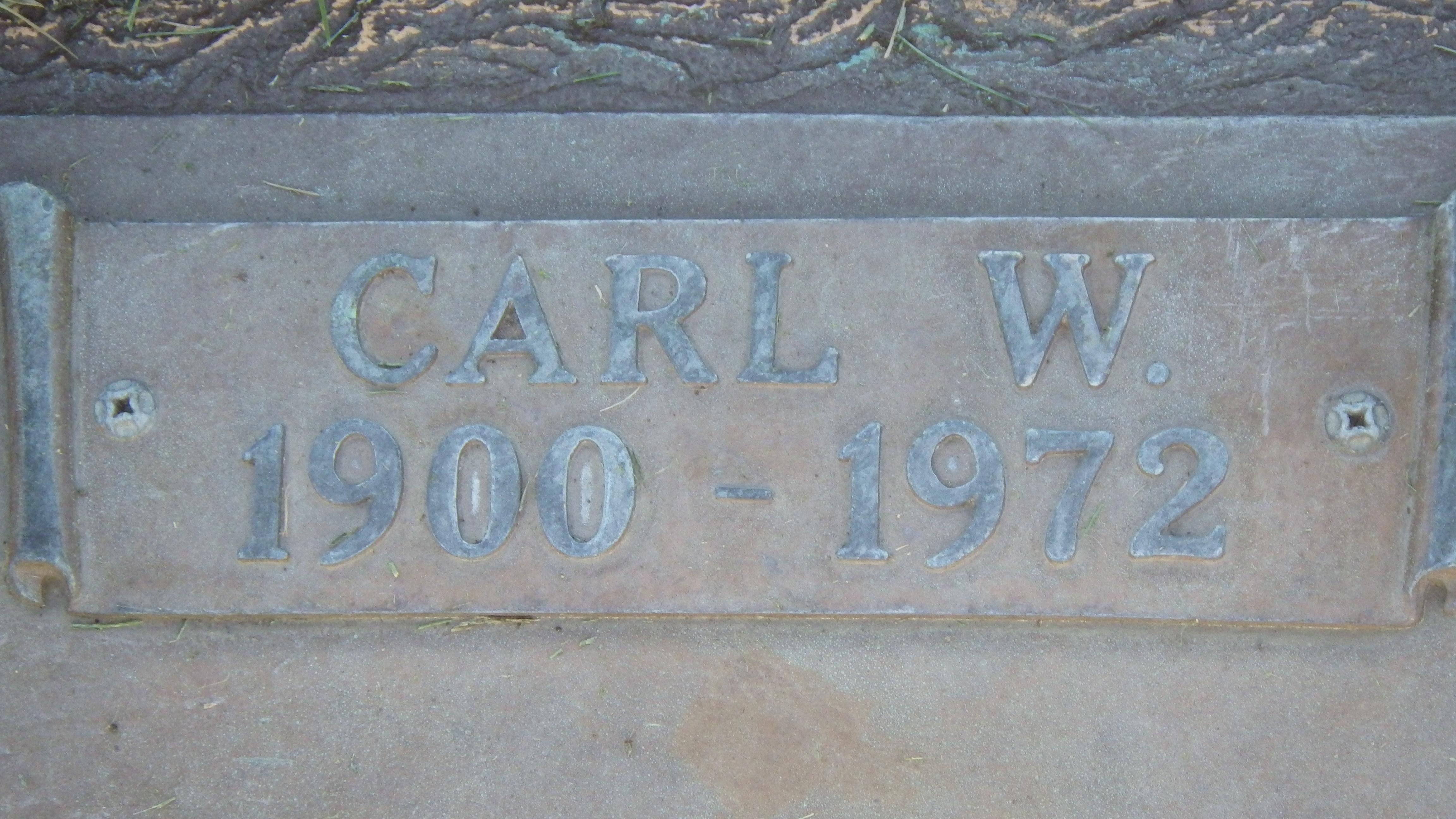 Carl W Ohlin