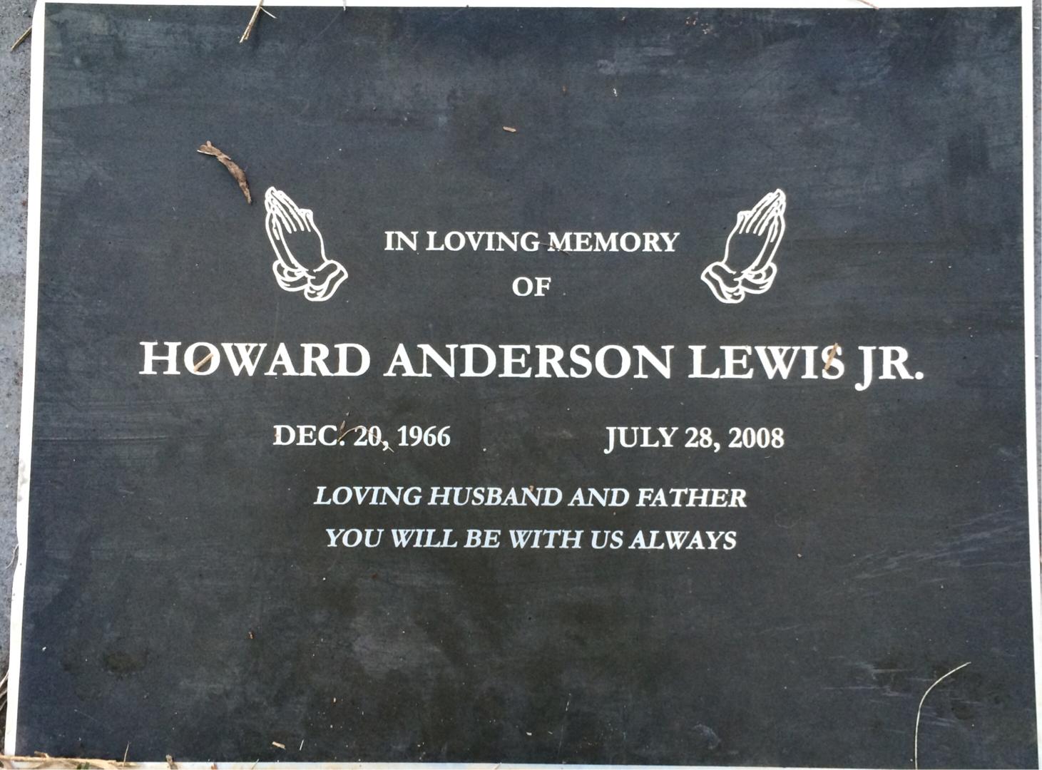 Howard Anderson Lewis, Jr