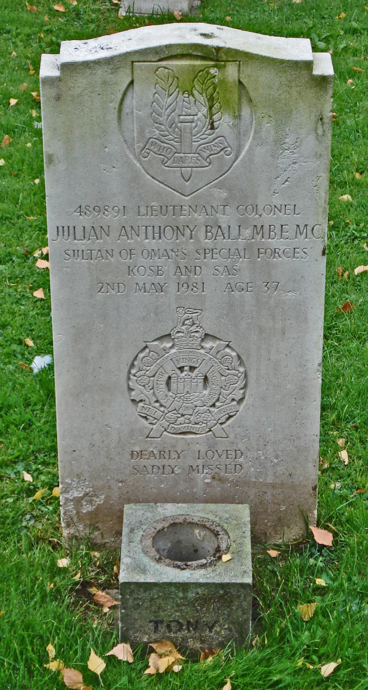 LTC Julian Anthony Tony Ball