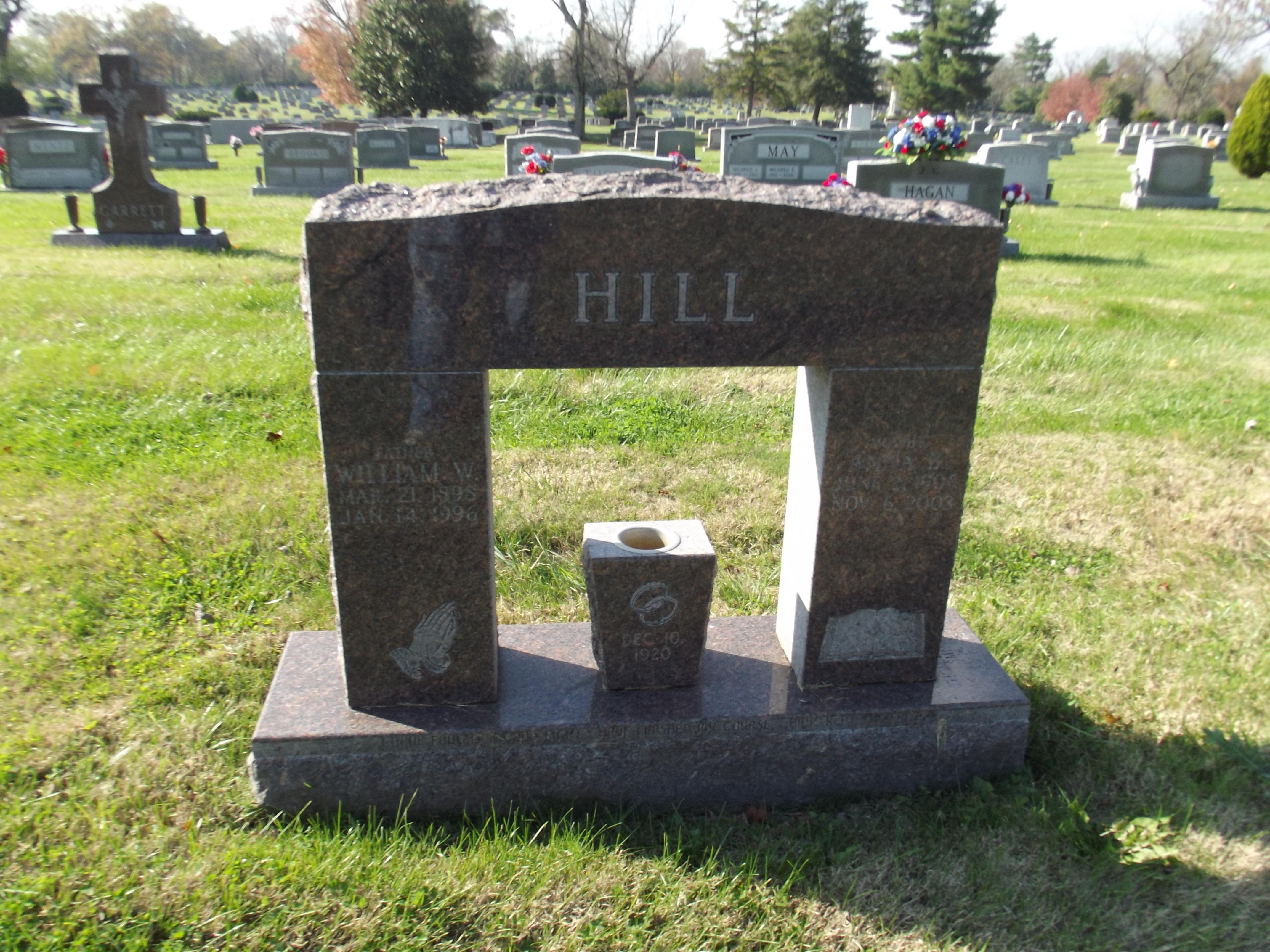 Anna Belle Annie <i>Barnard</i> Hill