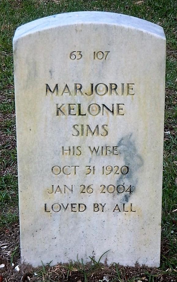 Marjorie Agnes <i>Kelone</i> Sims