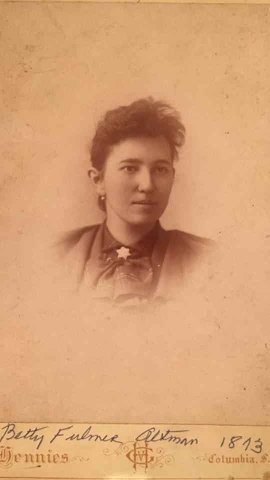 Elizabeth Betty <i>Fulmer</i> Altman