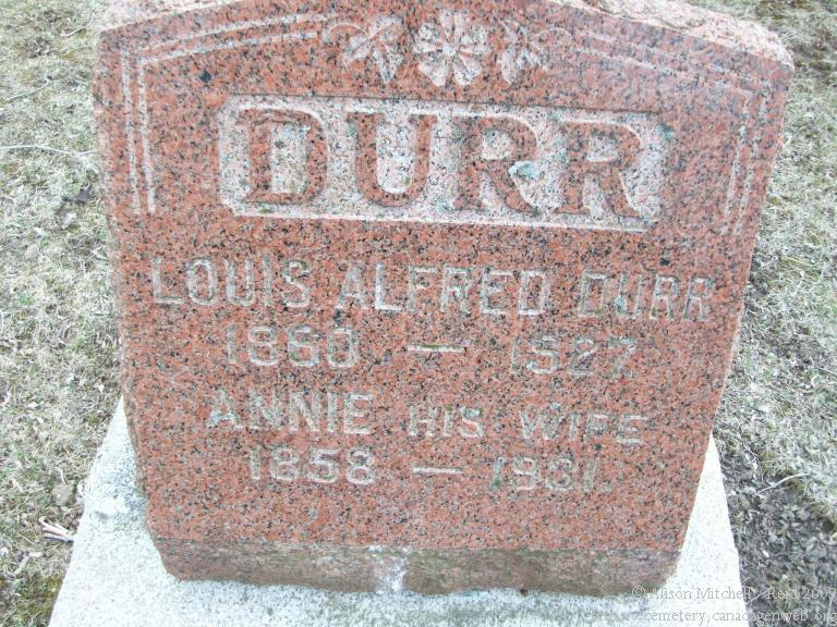Louis Alfred Durr