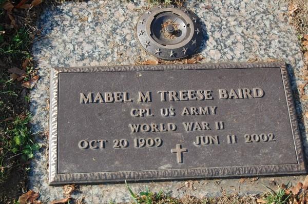 Mabel M <i>Treese</i> Baird