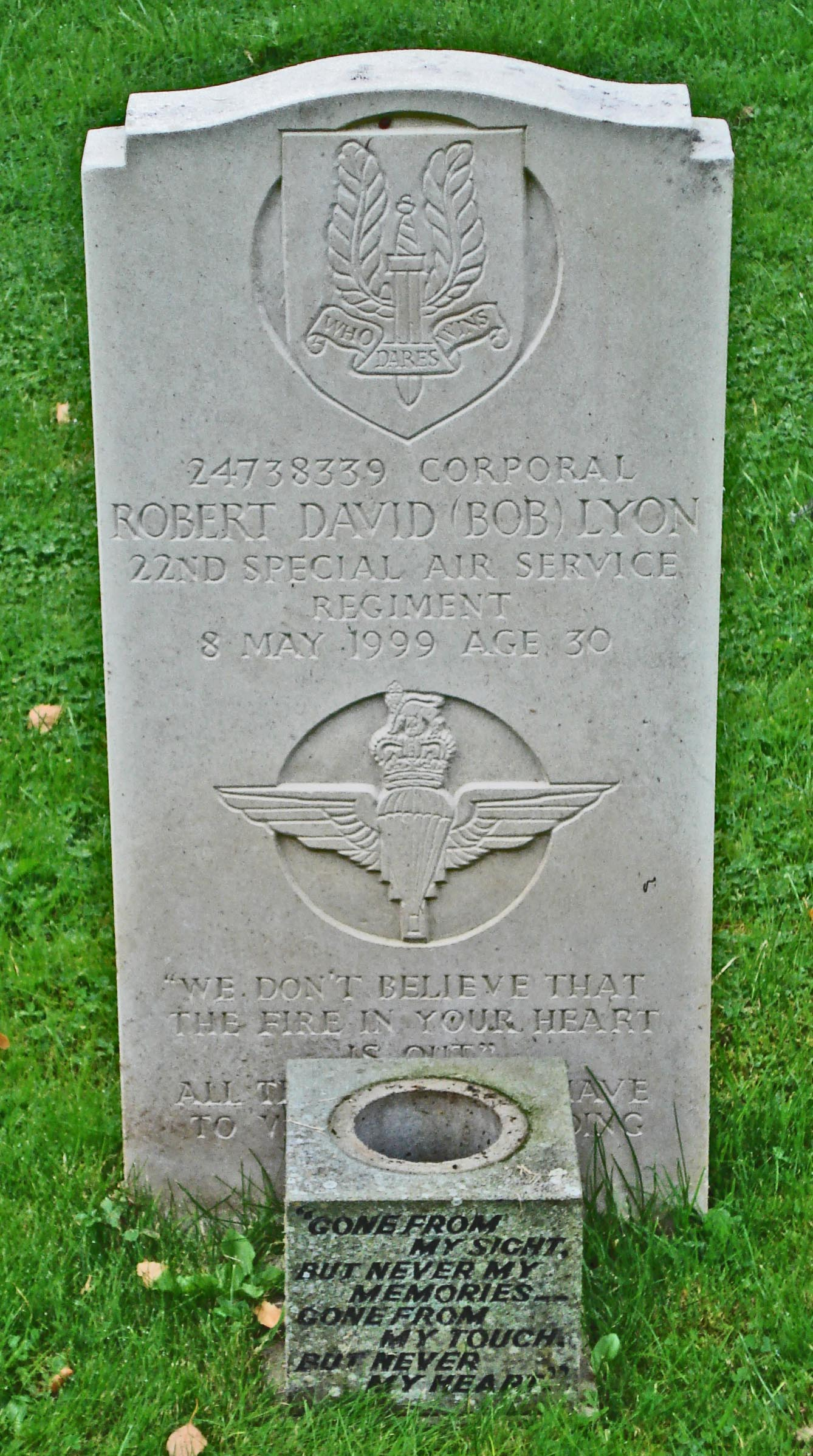 Corp Robert David Bob Lyon