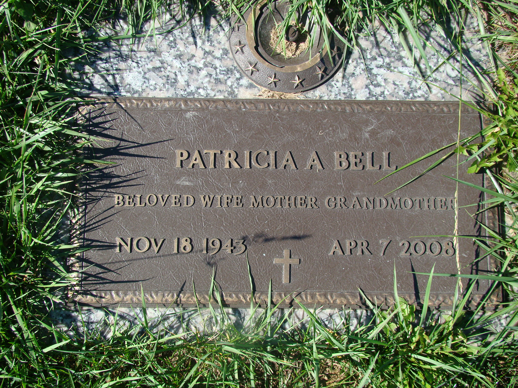 Patricia A. <i>Kensinger</i> Bell