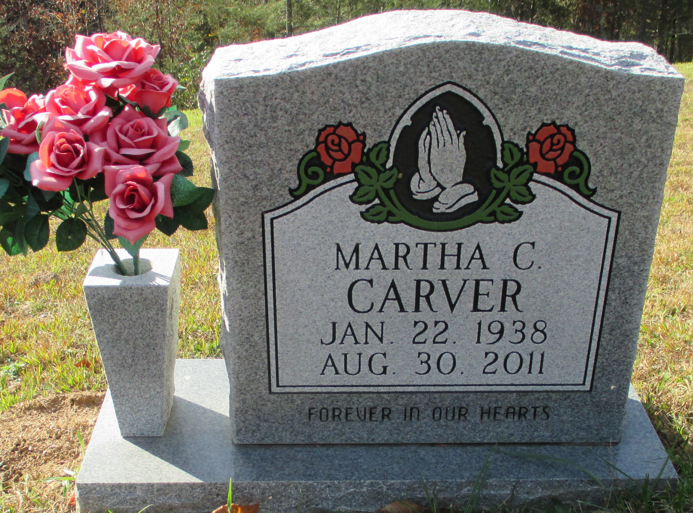 Martha Christine Carver Find A Grave Memorial