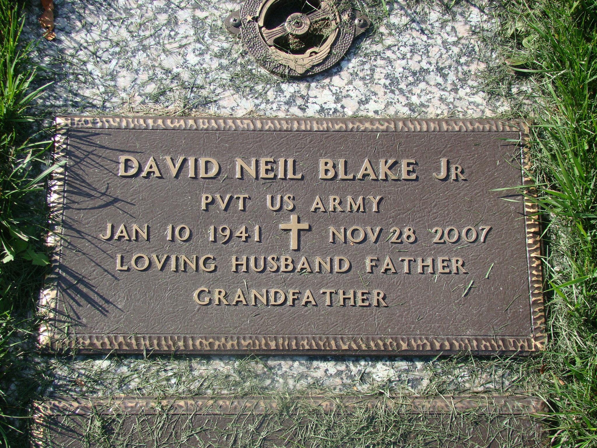 David N. Blake, Jr