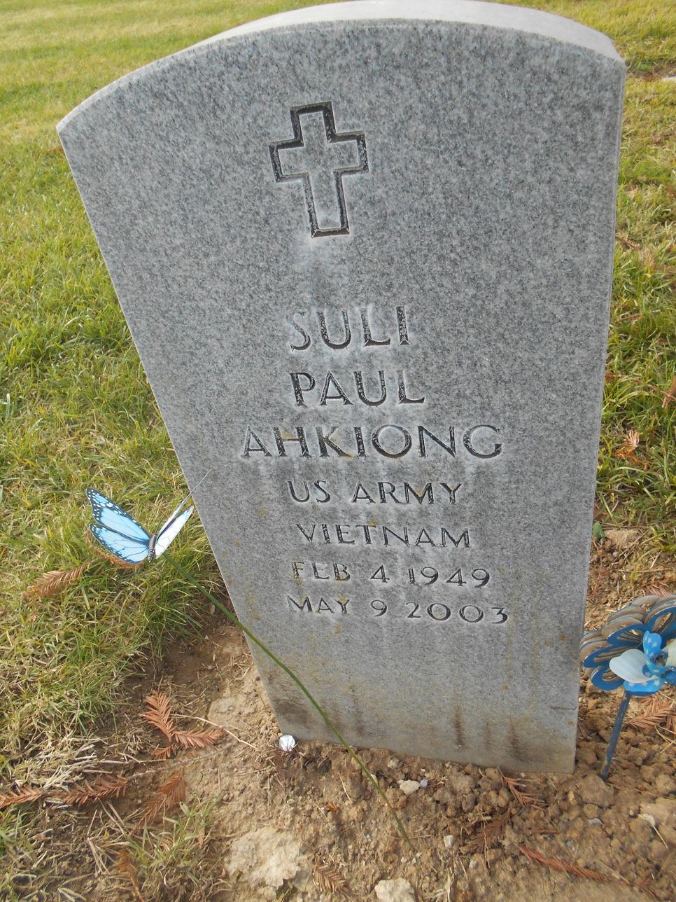 Suli Paul Ahkiong