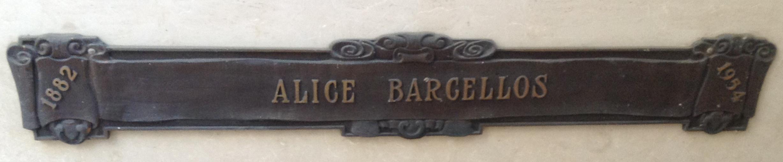 Alice <i>Harkness</i> Barcellos