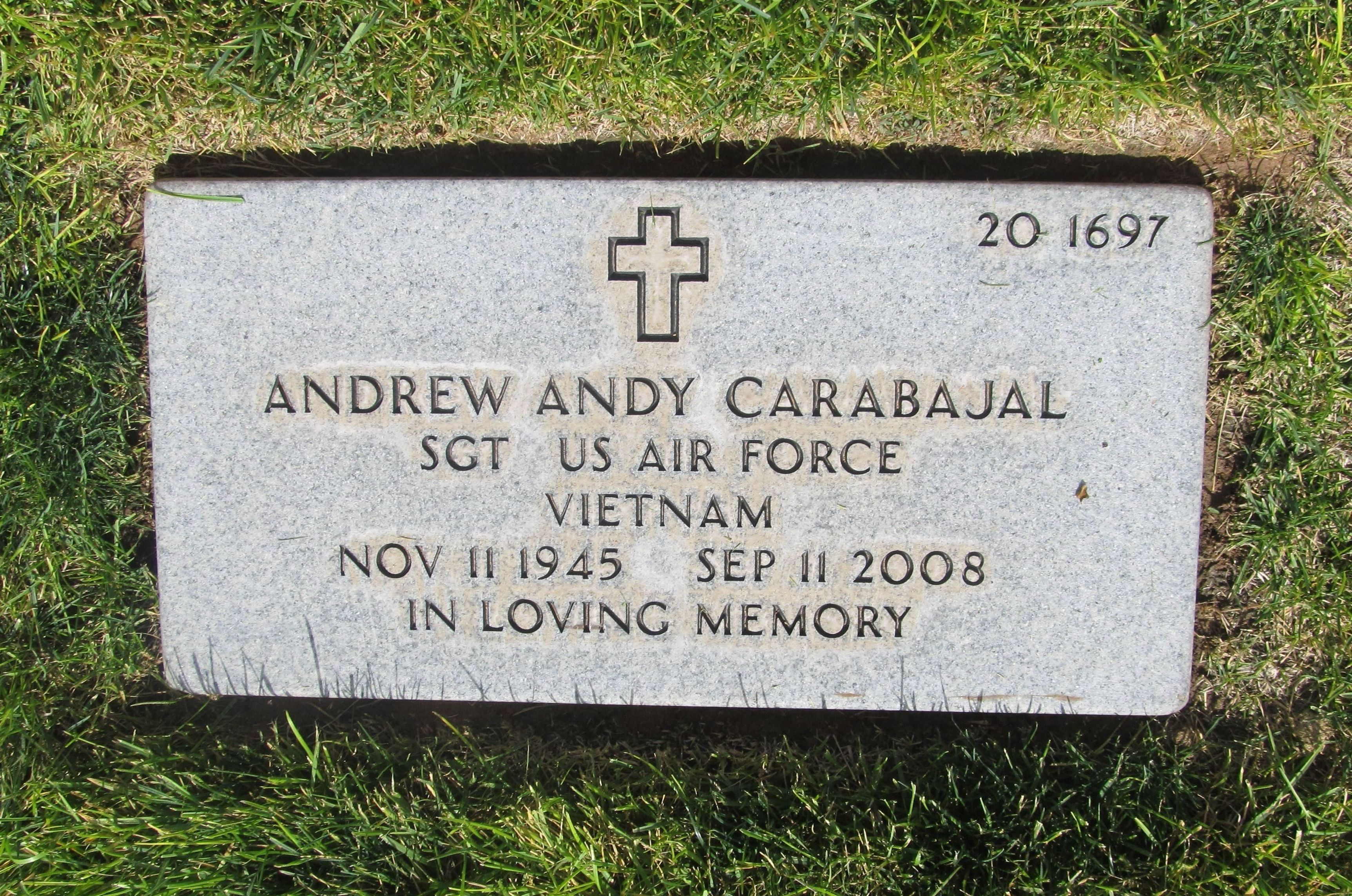 Andrew Andy Carabajal