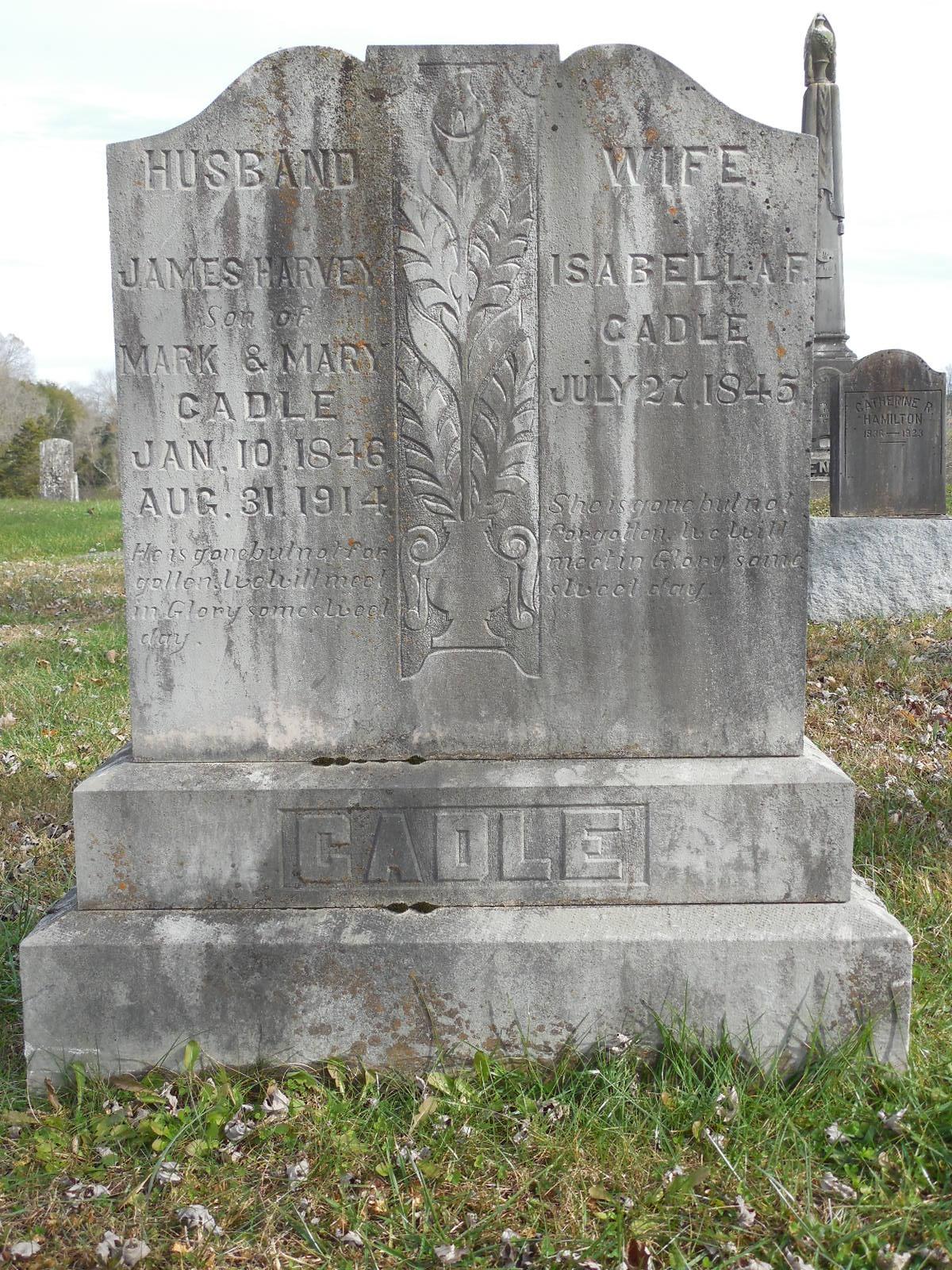 Isabella French Dollie <i>Scott</i> Cadle