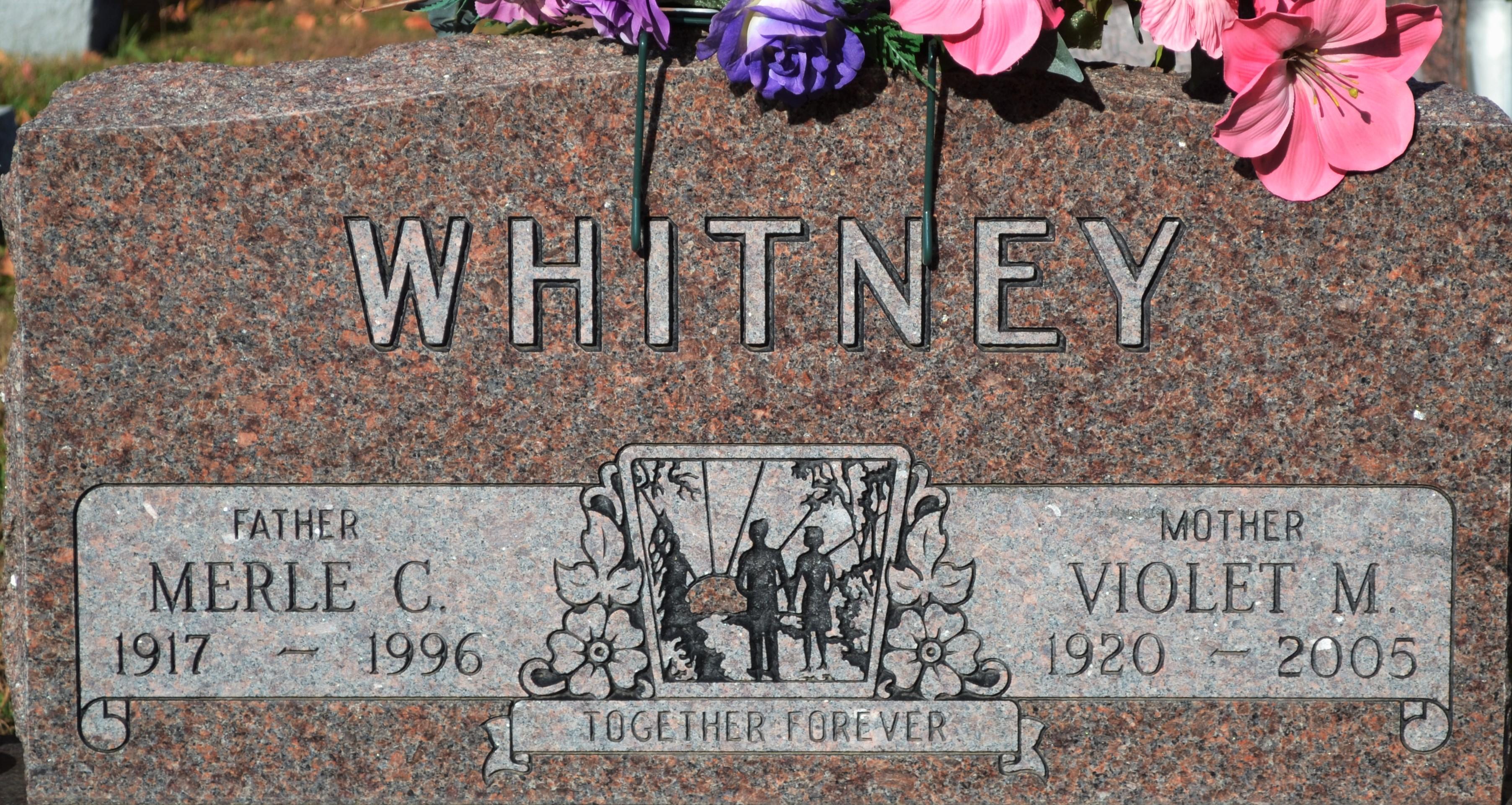 Violet Mary <i>Petty</i> Whitney