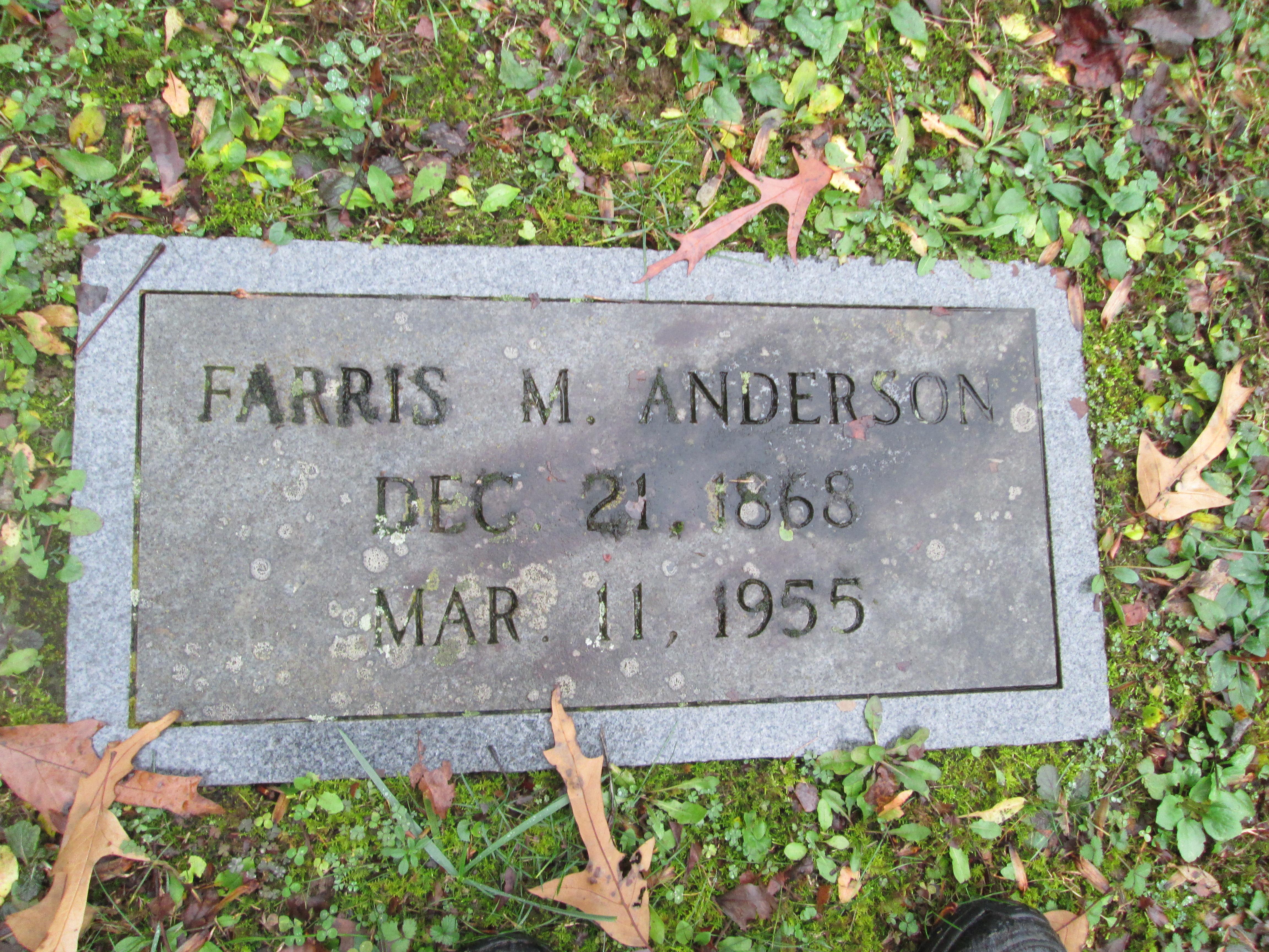 Farris Monroe Anderson