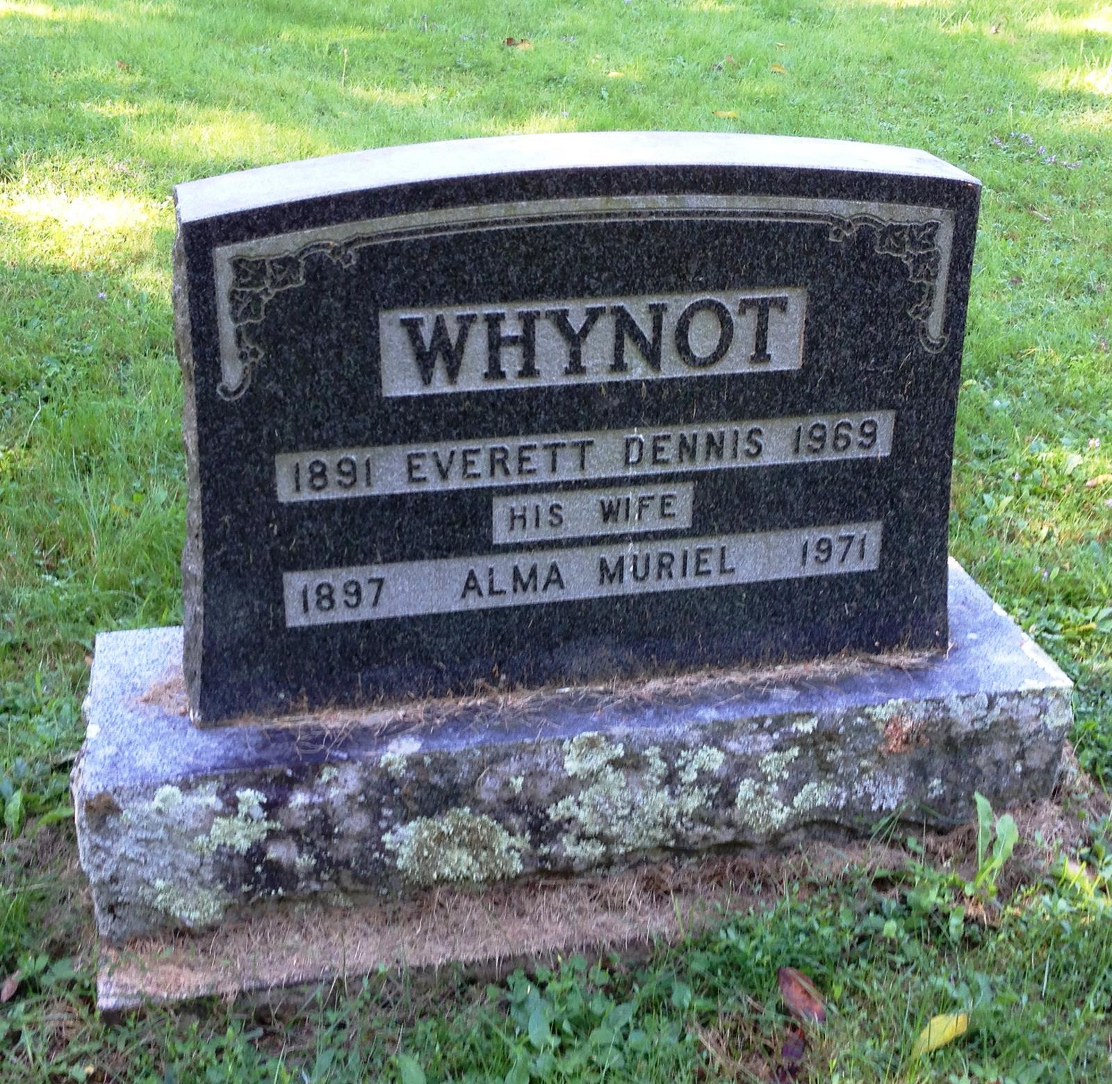 Alma Muriel Fotos alma muriel fancey whynot (1897-1971) - find a grave memorial