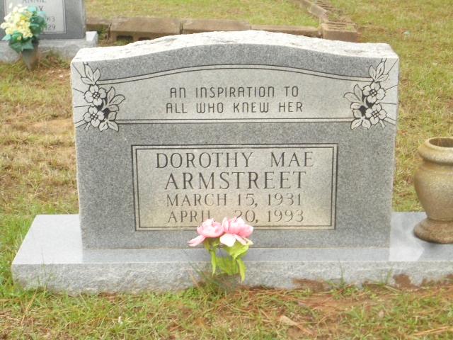 Dorothy Mae Armstreet