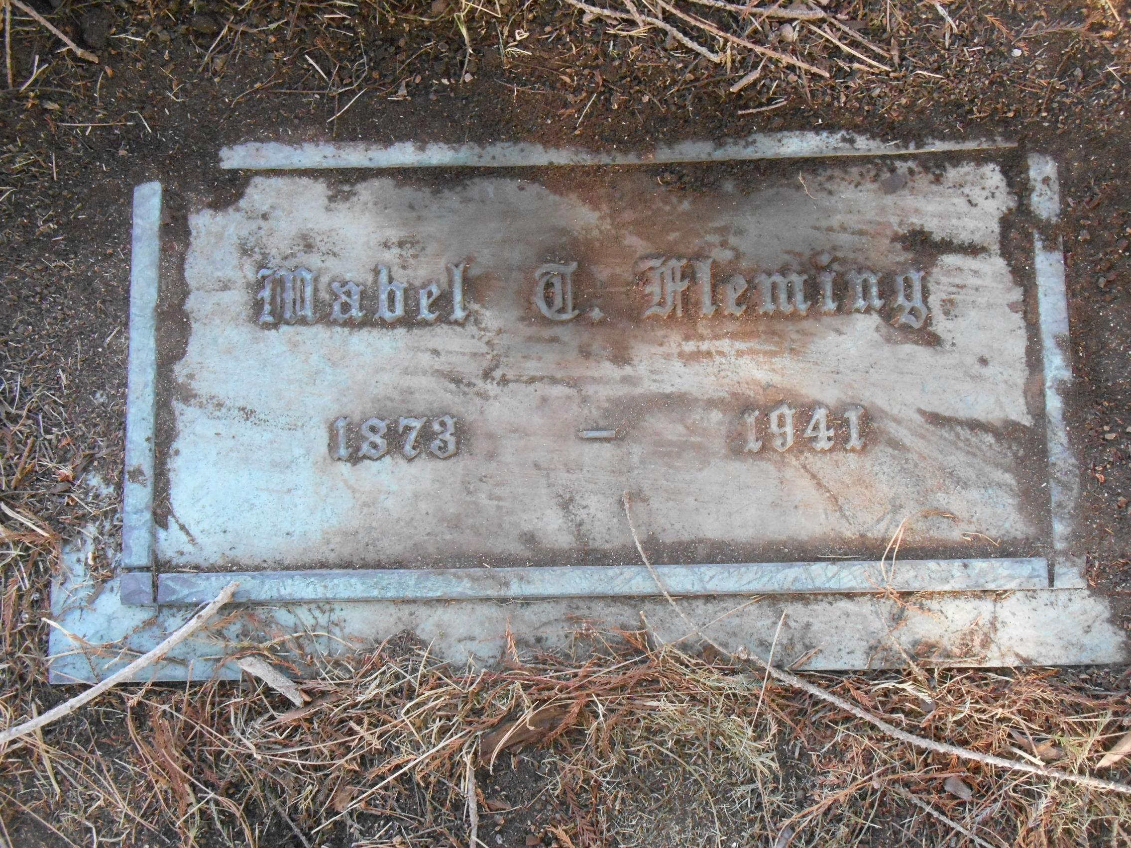 Mabel <i>Taylor</i> Fleming
