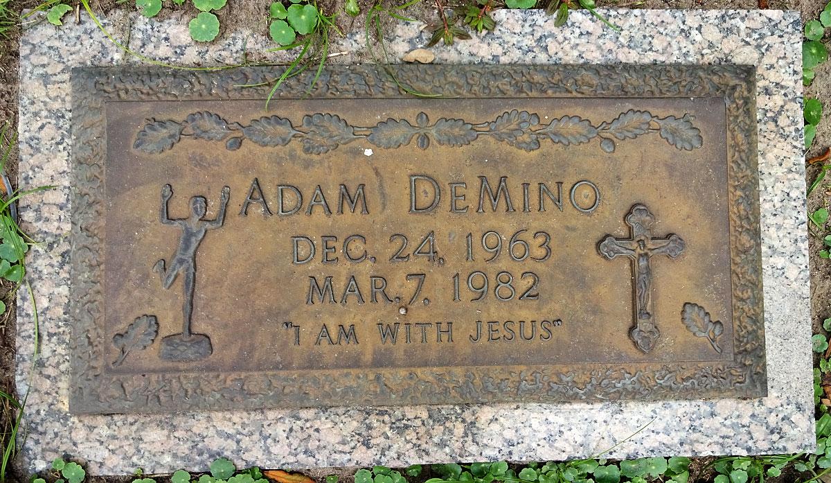 Adam Christopher DeMino (1963-1982) - Find A Grave Memorial