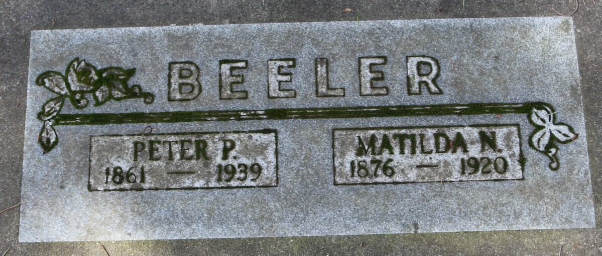Matilda Nancy <i>Hendrix</i> Beeler