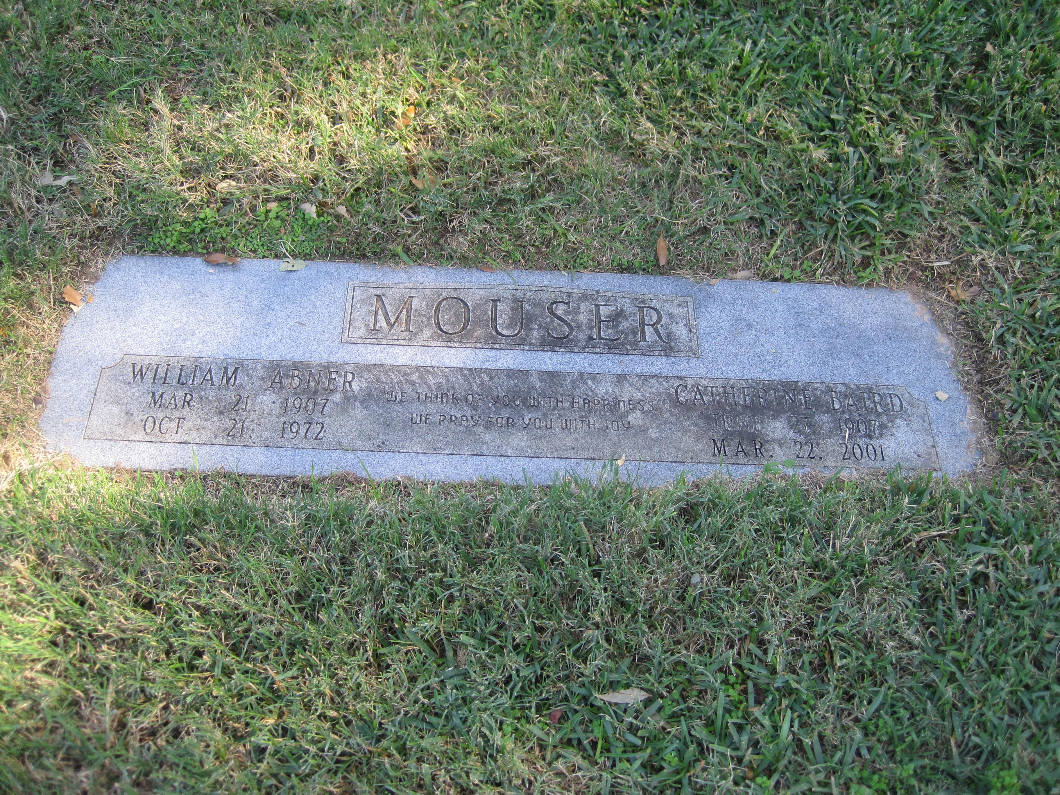 Catherine <i>Baird</i> Mouser