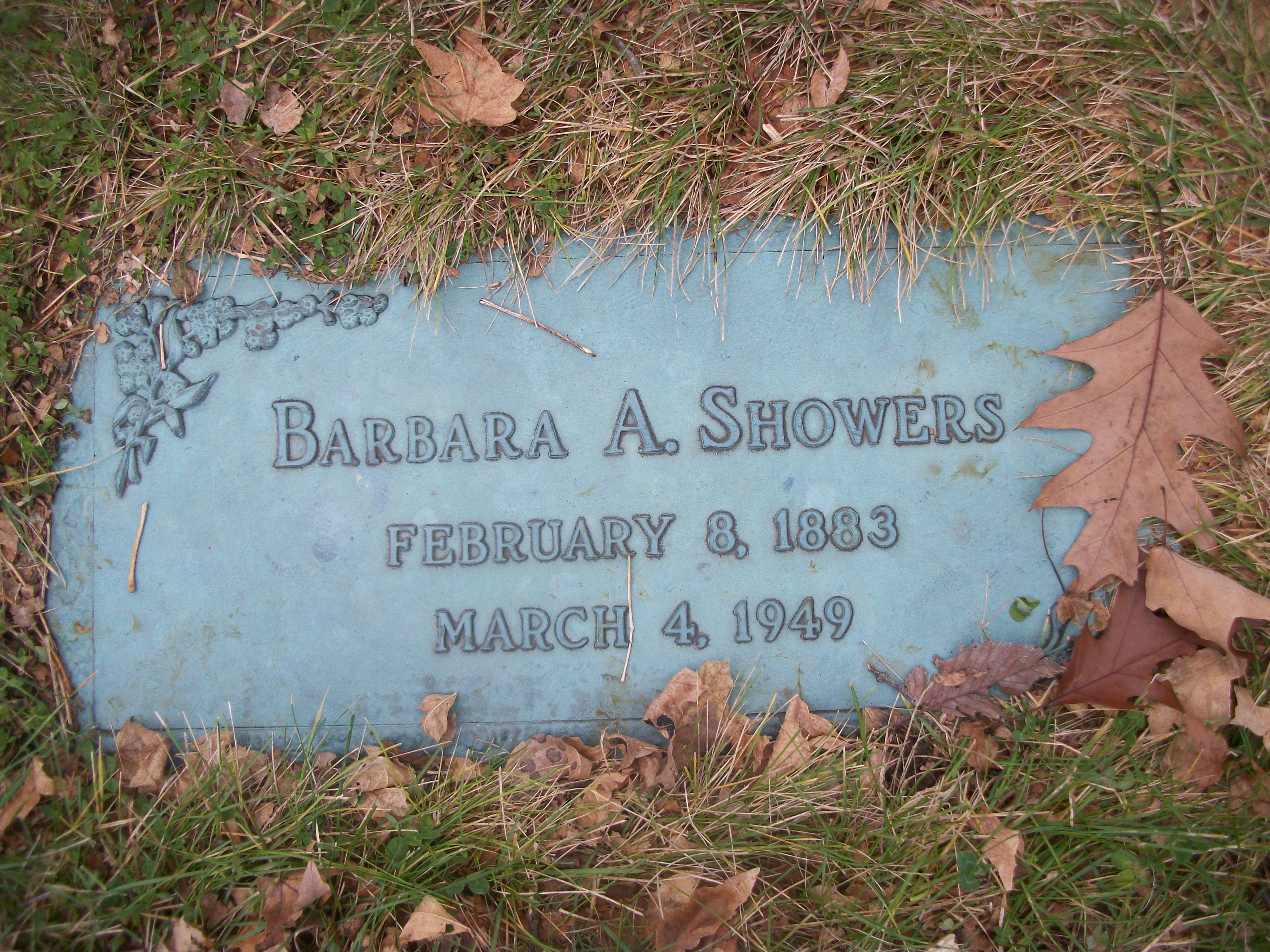 Barbara Amelia Hoida Showers (1883-1949) - Find A Grave Memorial