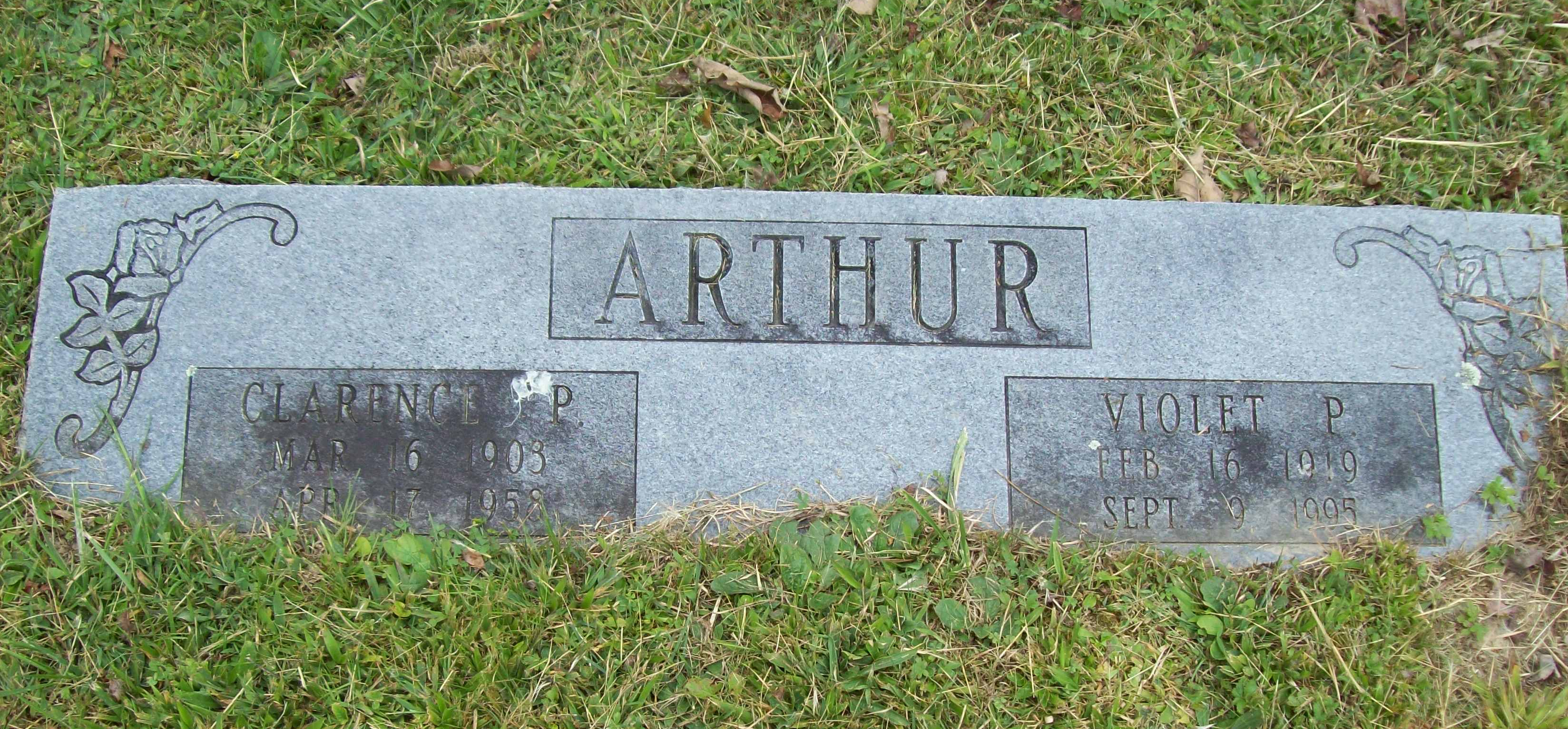 Clarence P. Arthur