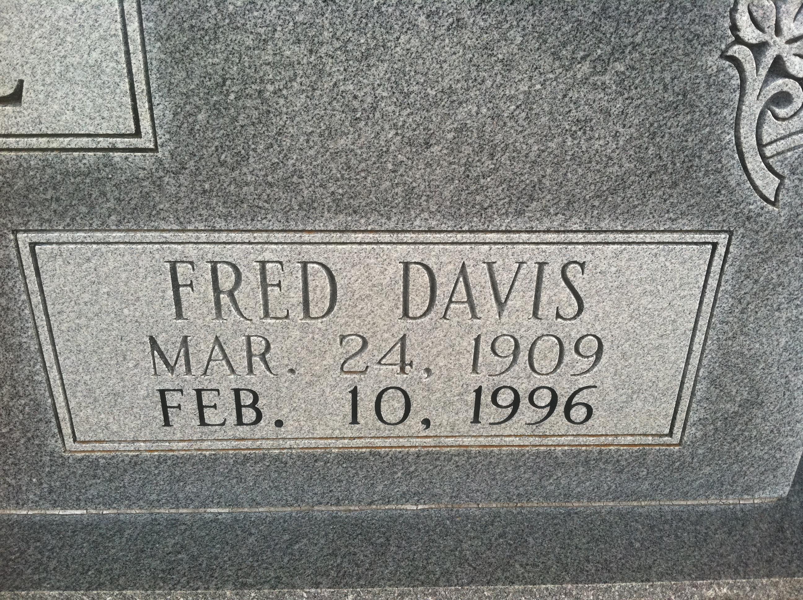 Fred Davis Roe, Sr