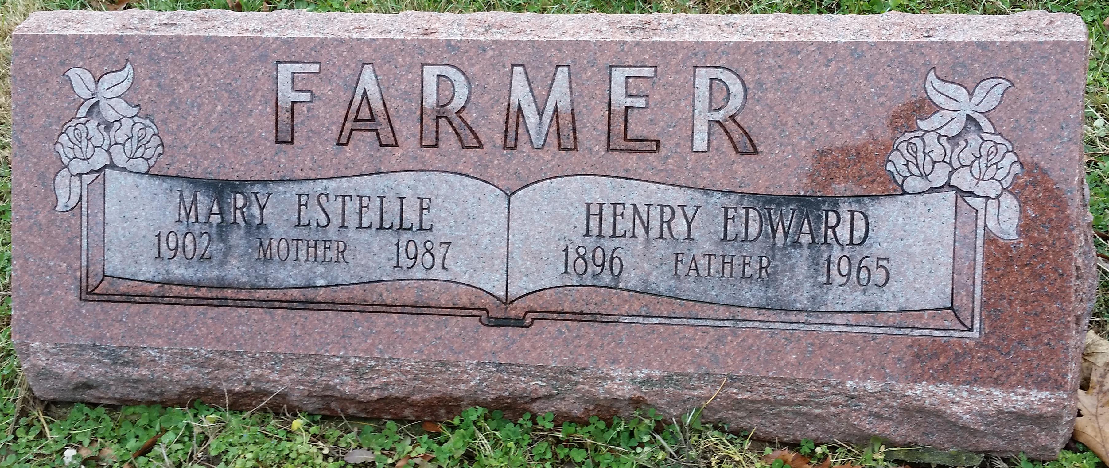 Mary Estelle <i>Price</i> Farmer