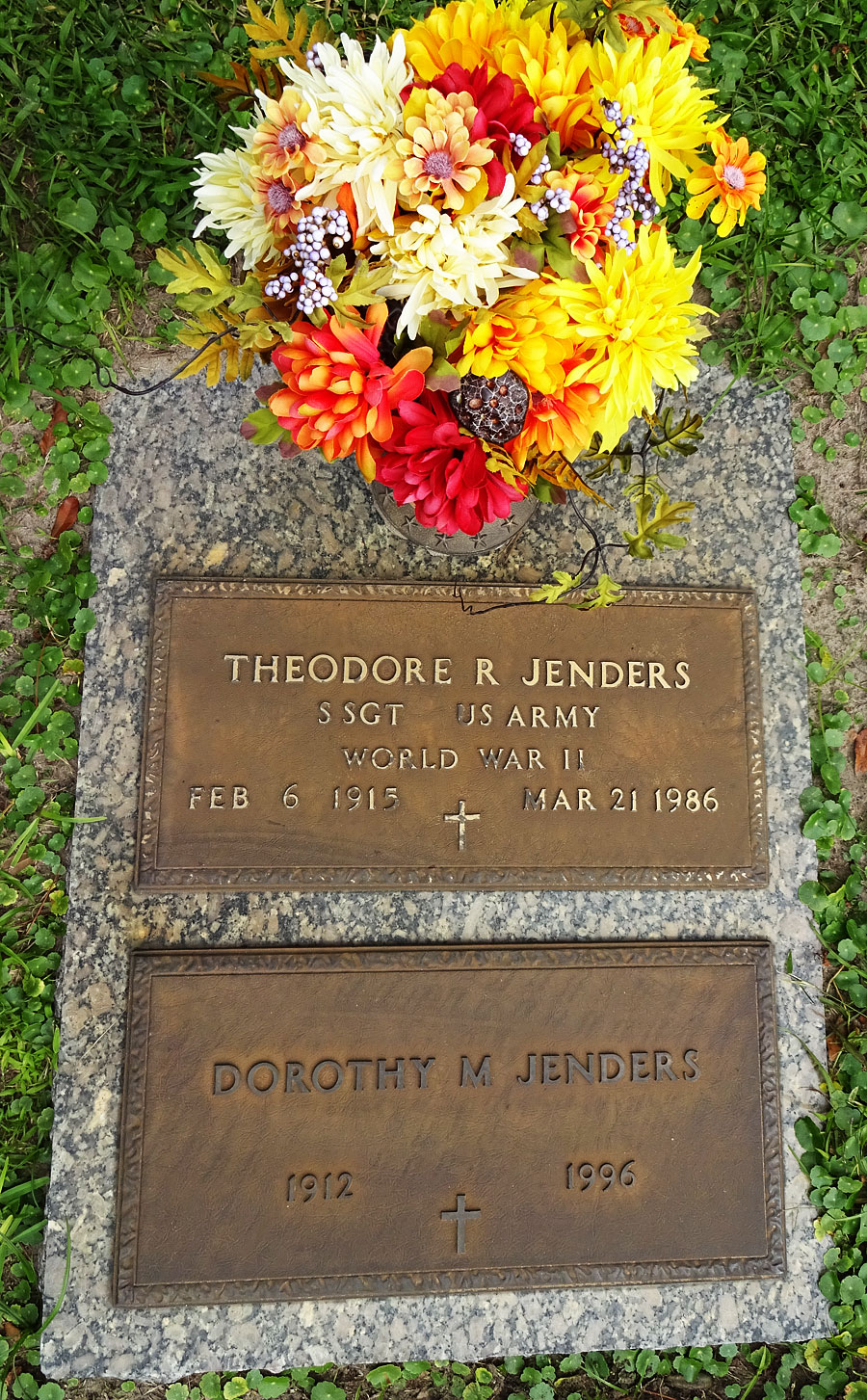 Dorothy M. Jenders (1912-1996) - Find A Grave Memorial