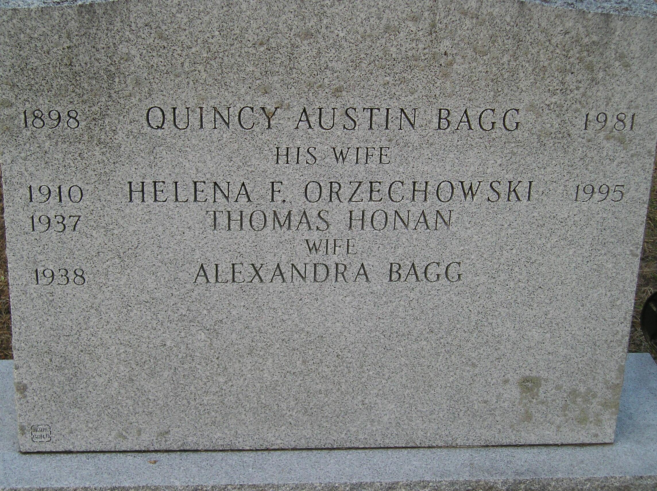 Helen F. <i>Orzechowski</i> Bagg