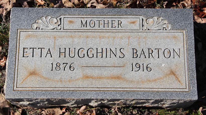Etta <i>Hugghins</i> Barton