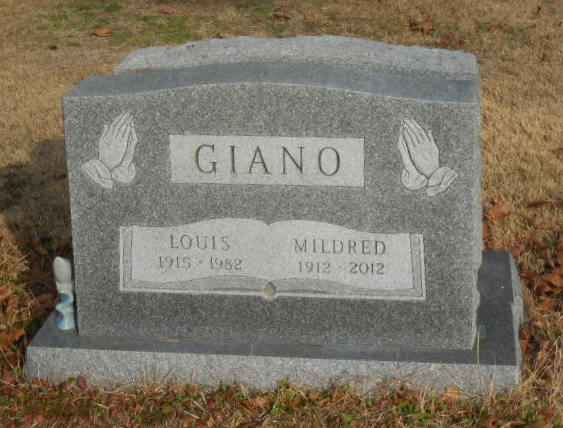 Mildred <i>DiCioccio</i> Giano