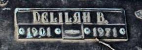 Delilah <i>Rutledge</i> Edwards
