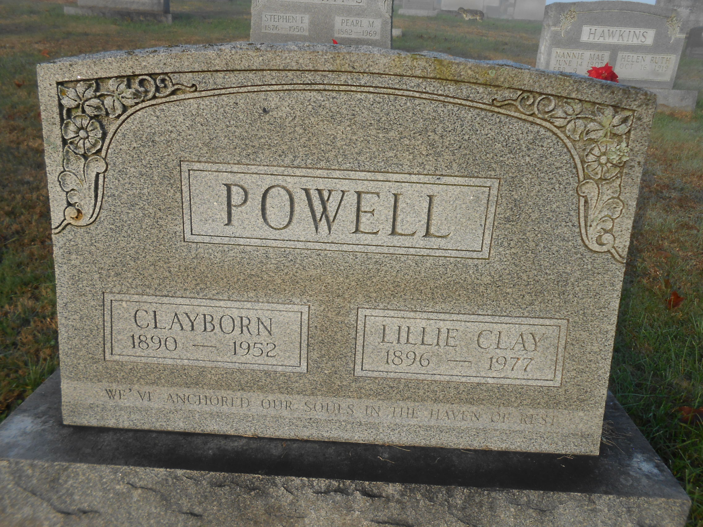 Clayborne powell 1890 1952 find a grave memorial