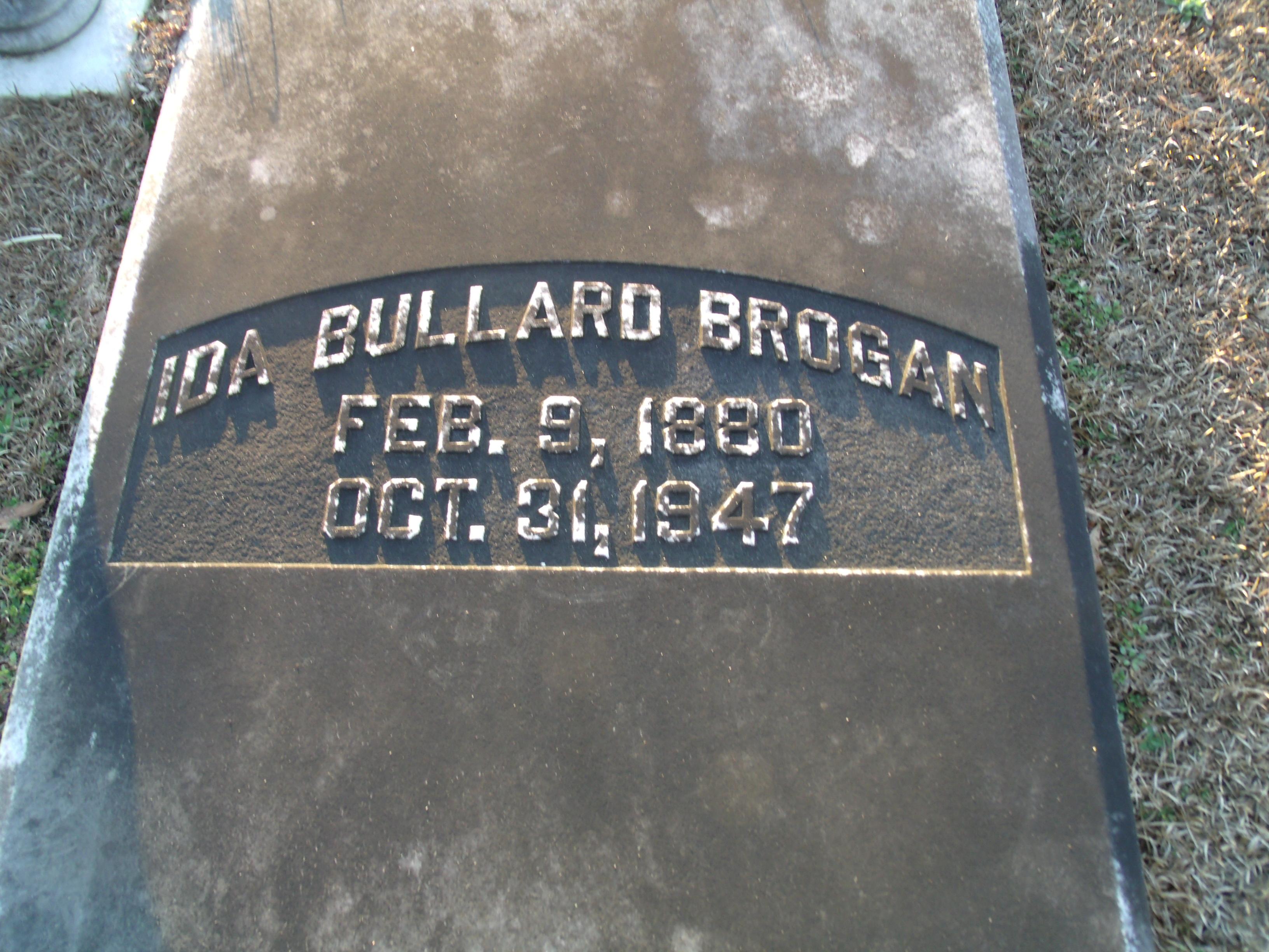 Ida May <i>Bullard</i> Brogan