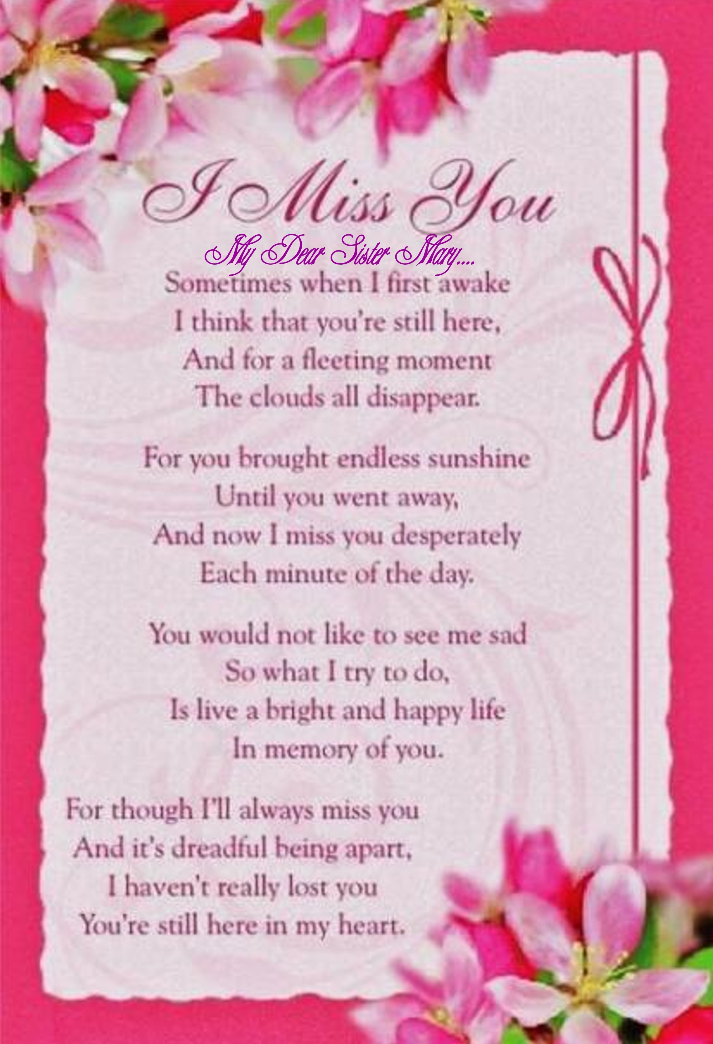 Missing My Mom In Heaven Quotes Mary Louise Norman Childers 19322014  Find A Grave Memorial