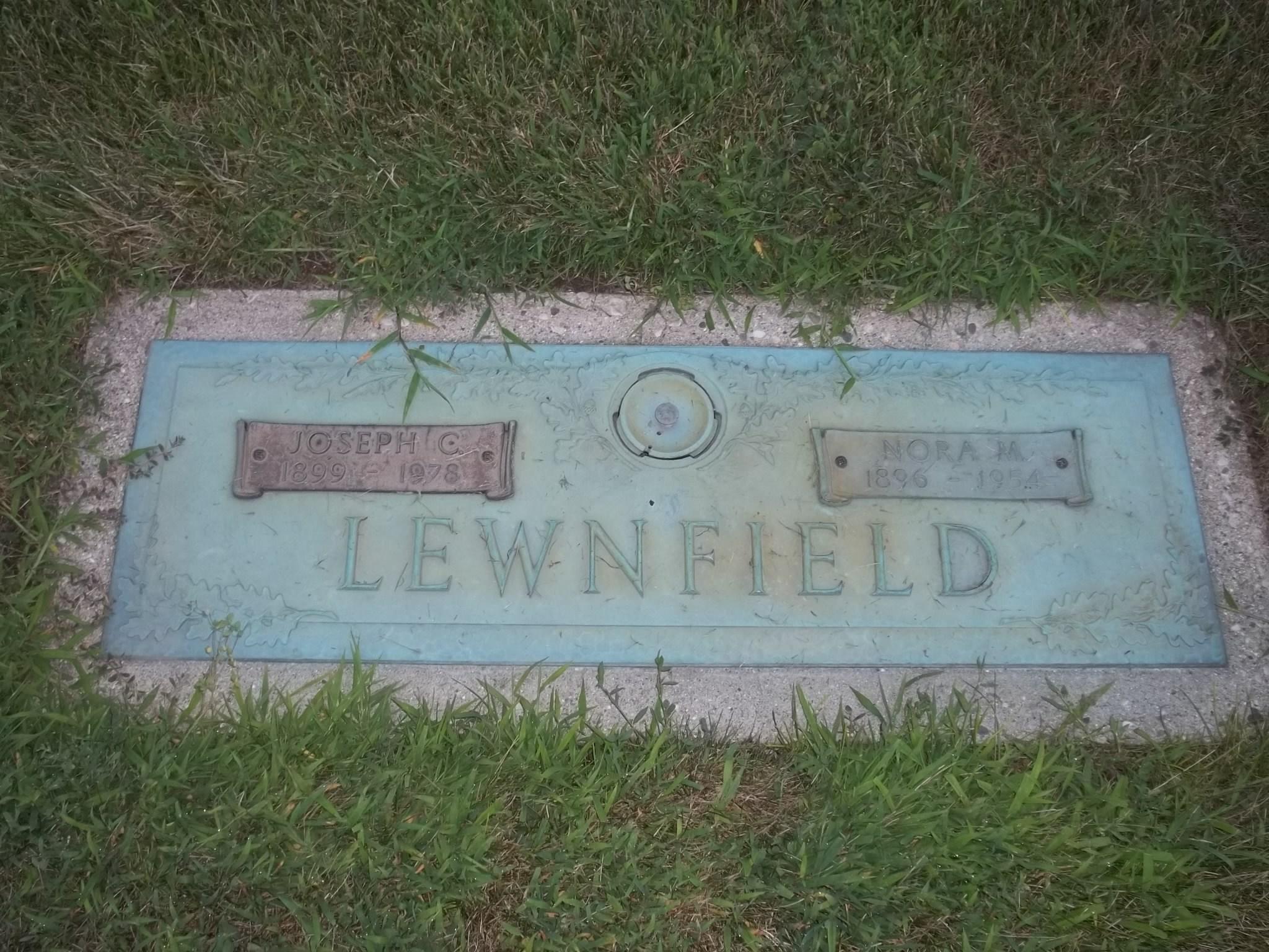 Nora May <i>Northrop</i> Lewnfield