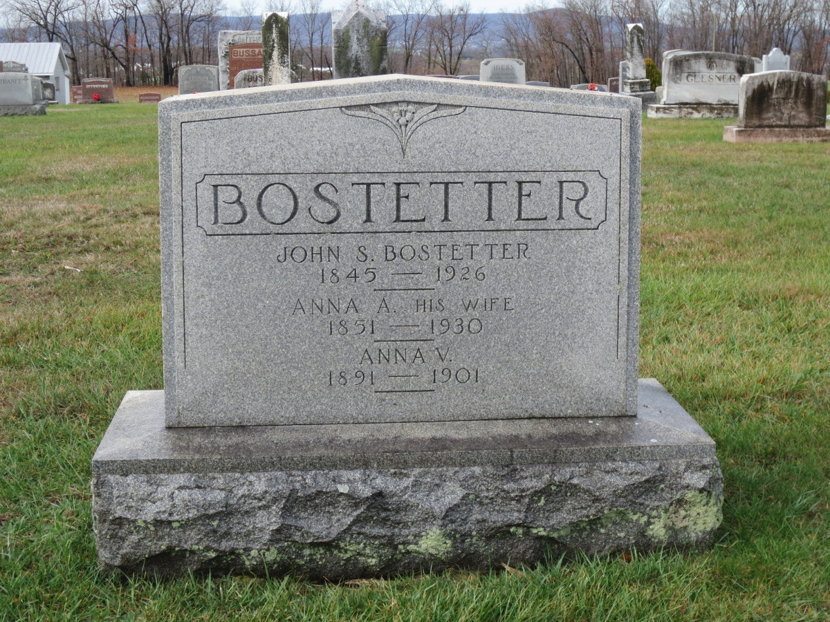 Anna A. <i>Johnston</i> Bostetter