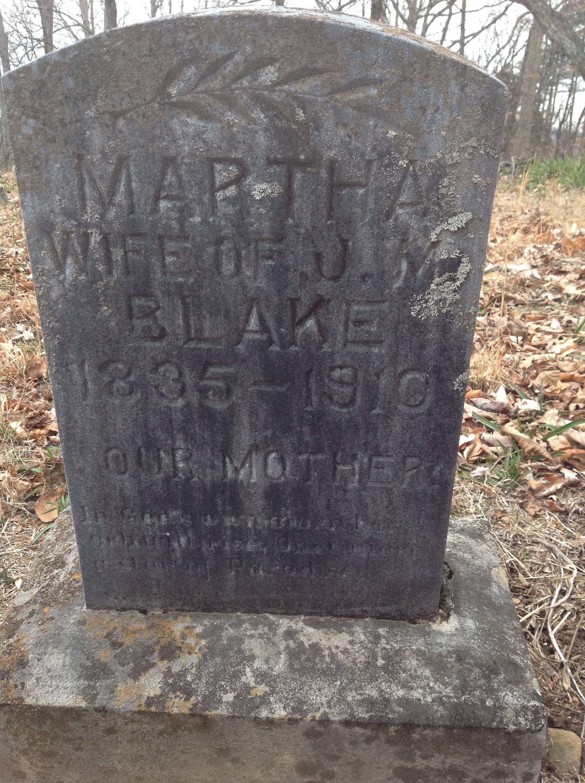 Martha <i>Ventis</i> Blake