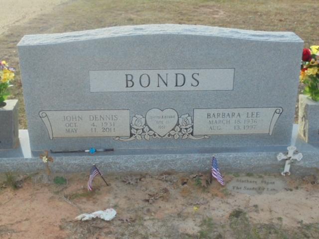 Barbara Lee Bobbie <i>Theeck</i> Bonds