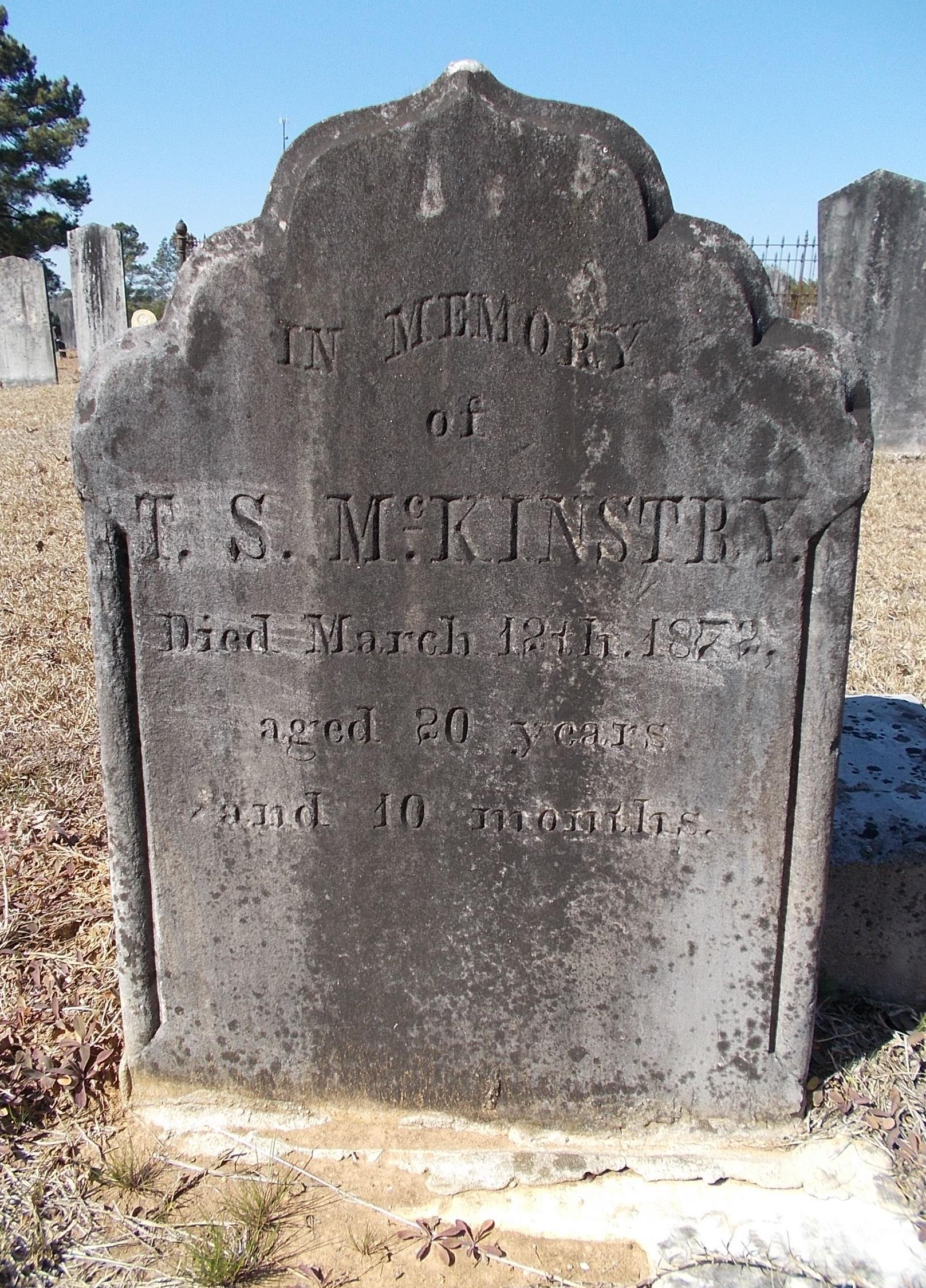 Thomas S McKinstry