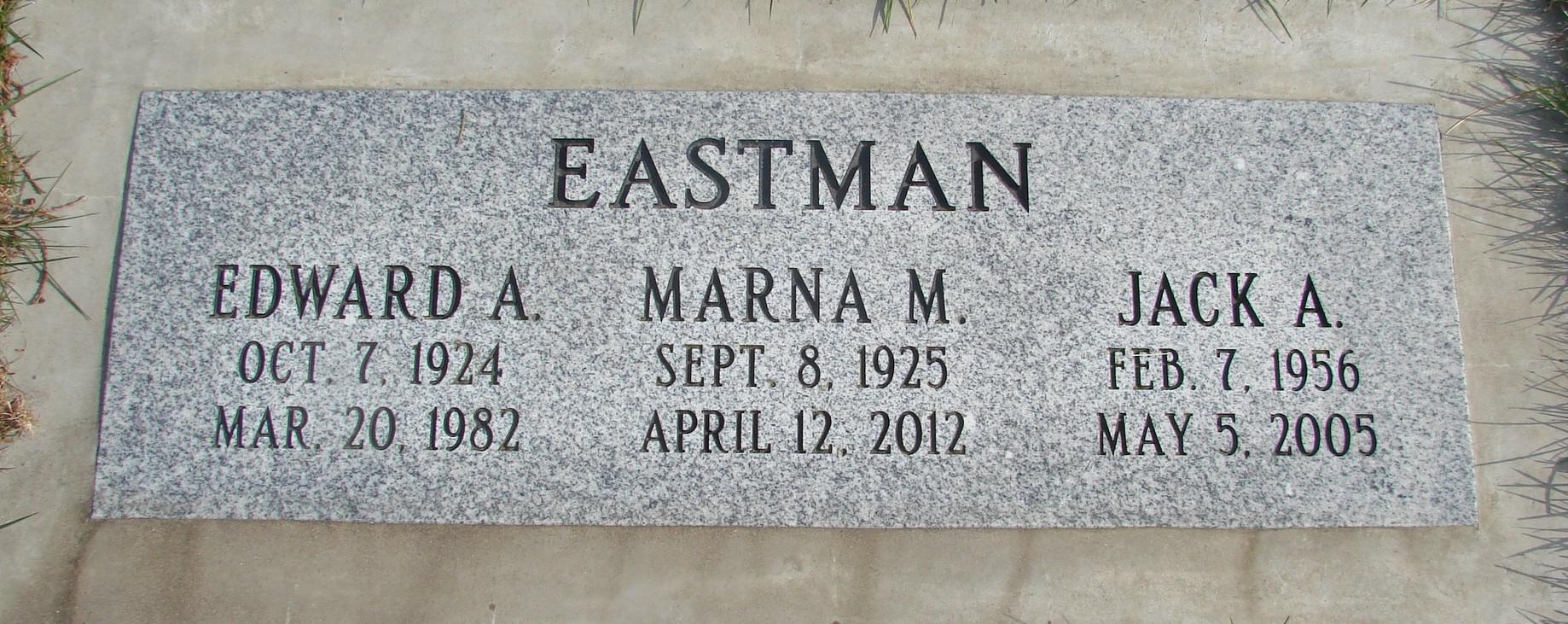 Edward A. Eastman
