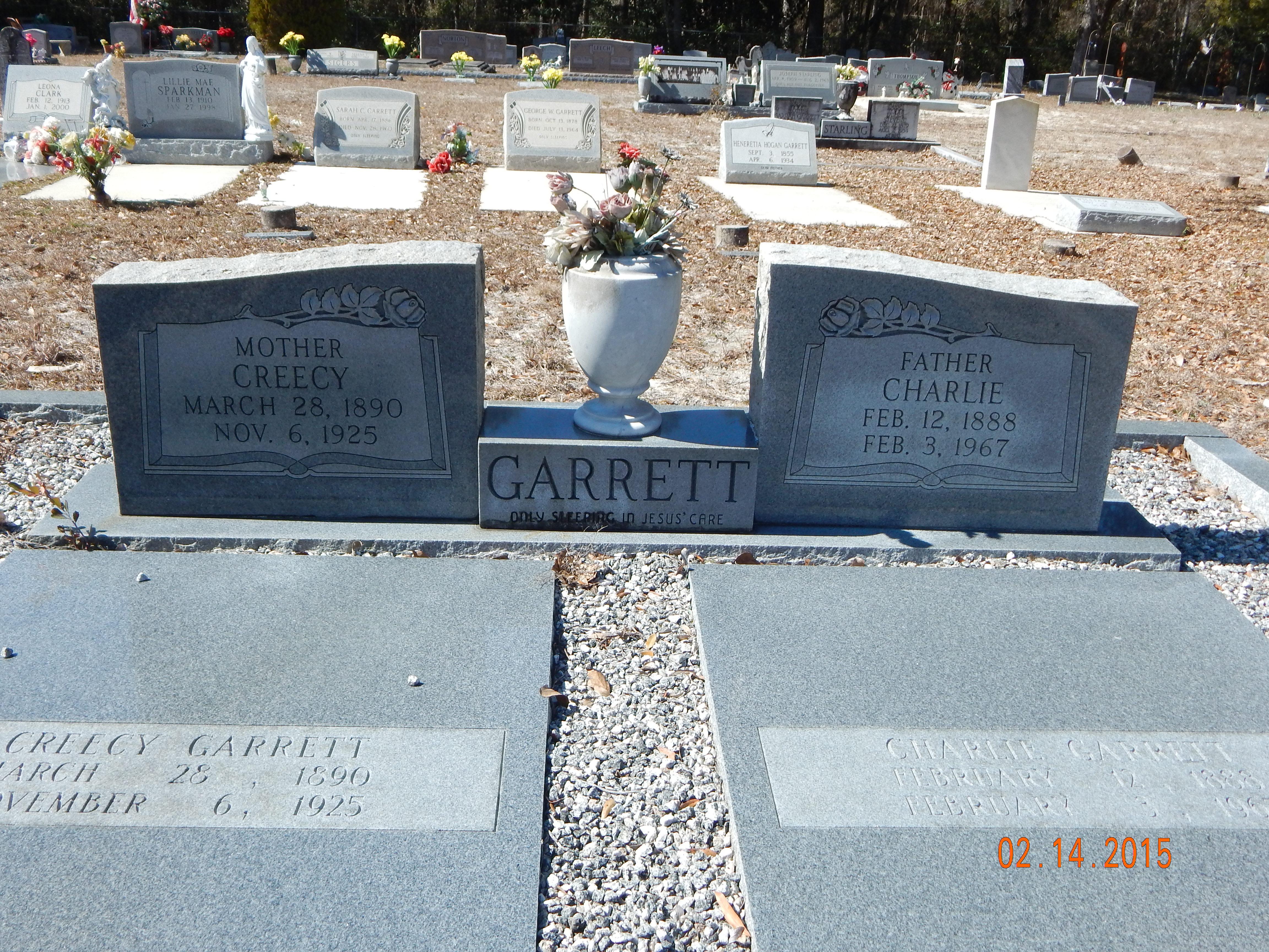 Lucretia <i>Crews</i> Garrett