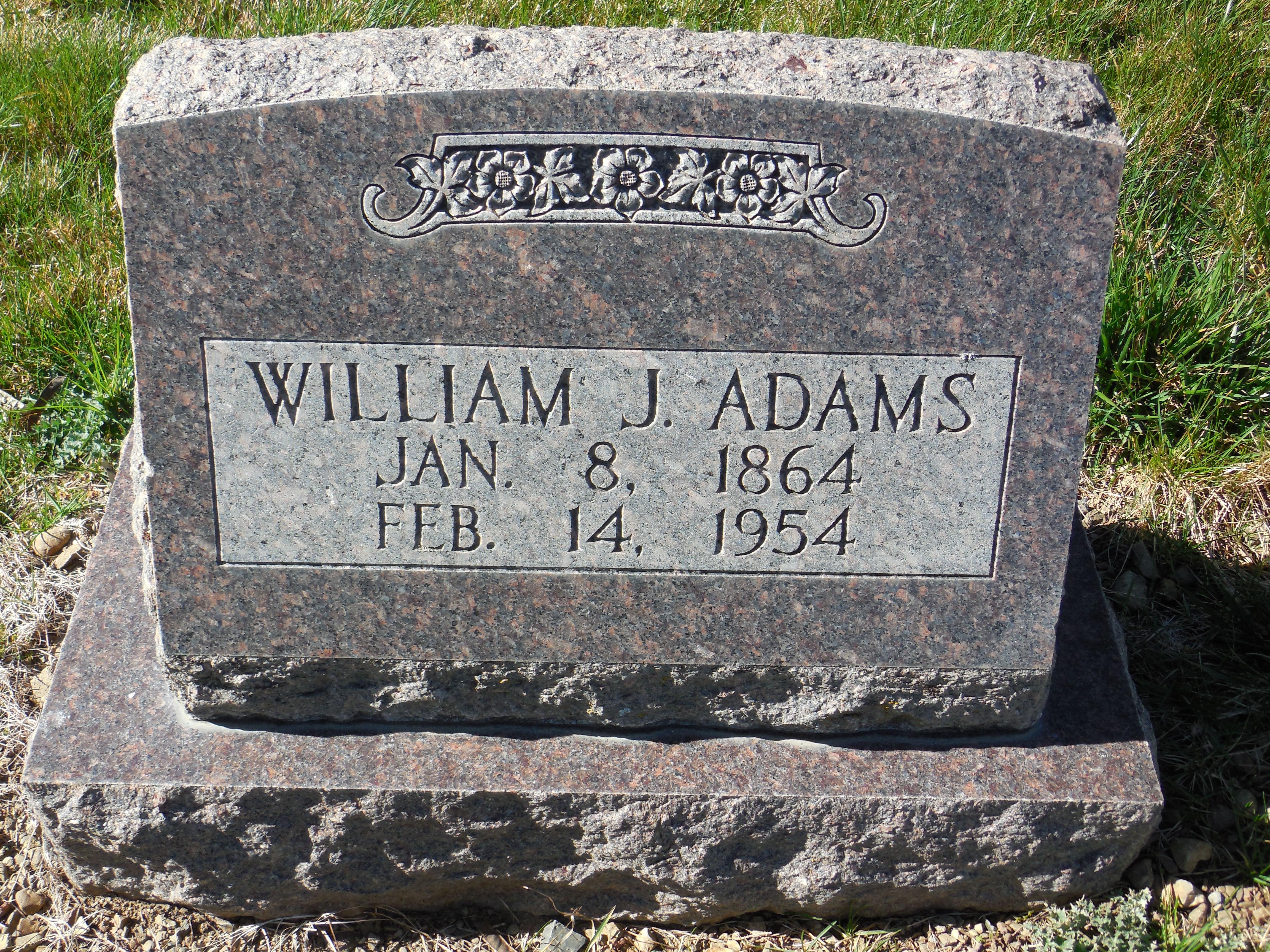 William Jessie Adams