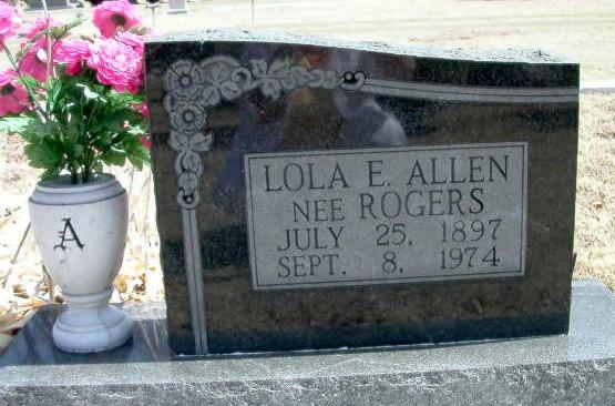 Lola E. <i>Rogers</i> Allen