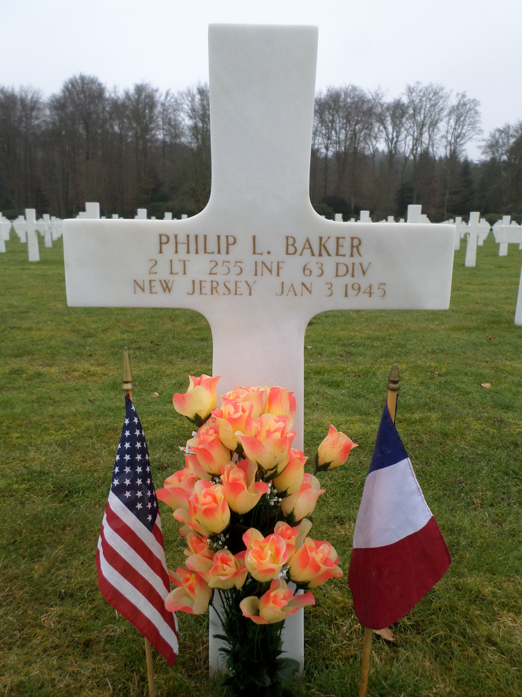 2Lt Philip L. Baker