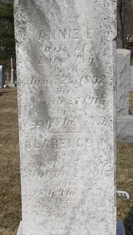 Annie E. <i>Coulter</i> Fry