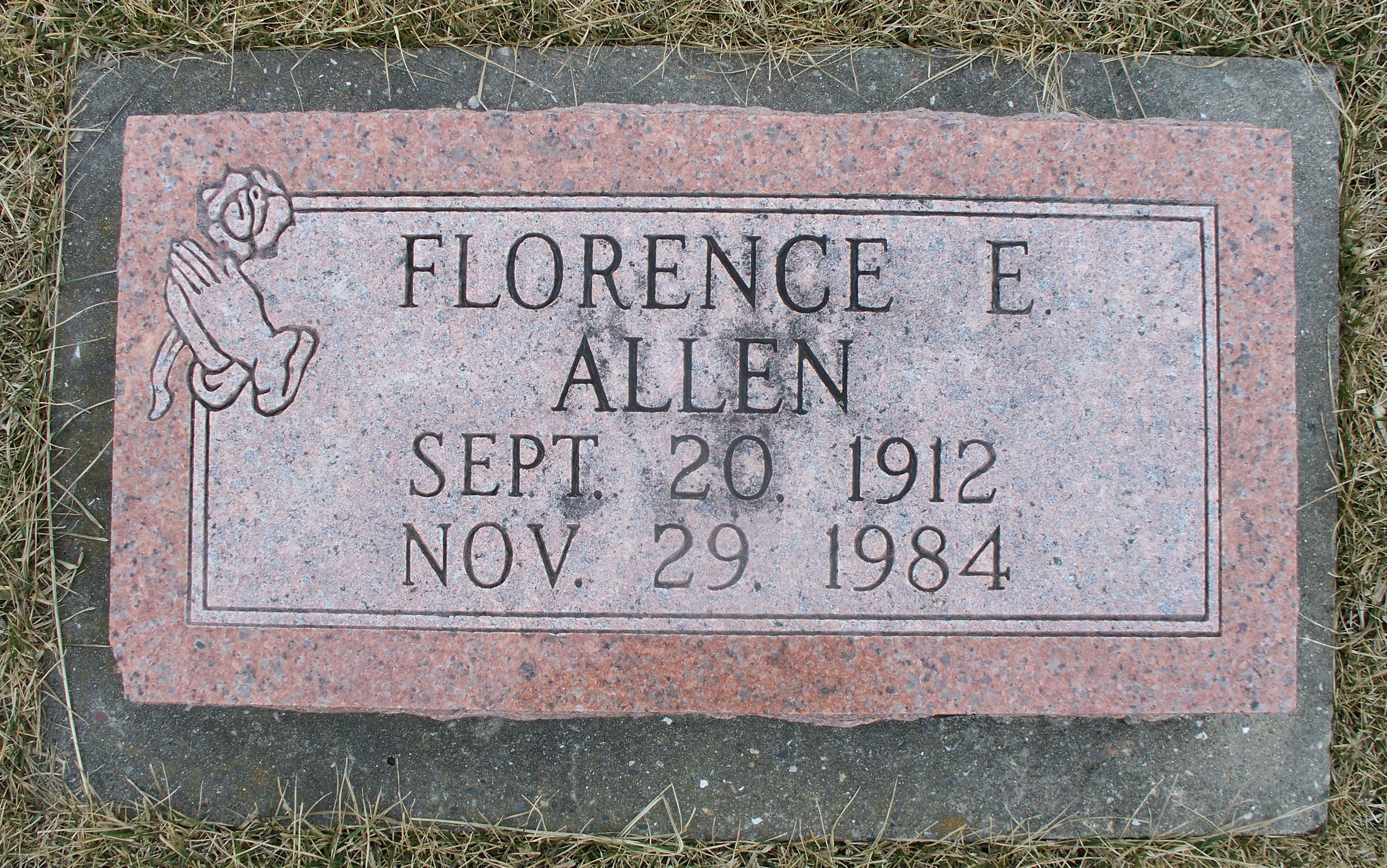 Florence Elizabeth <i>Bollman</i> Allen