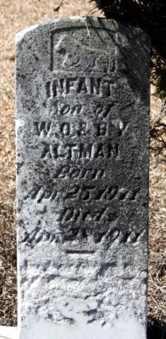 Infant Son Altman