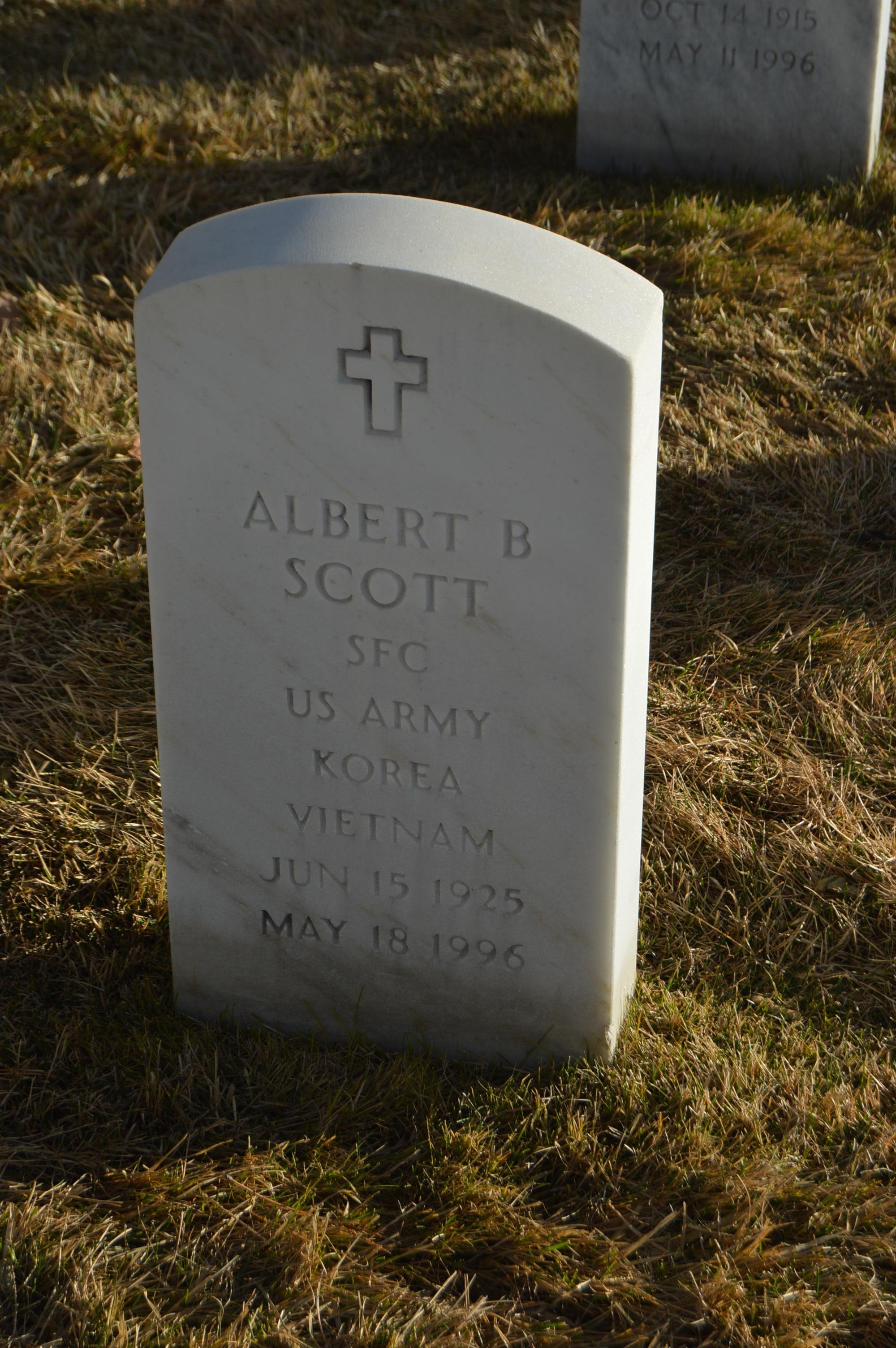 Albert B Scott